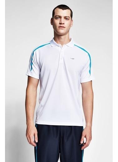 Lescon Beyaz Erkek T-Shirt 20B-1047 Beyaz